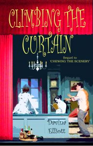 Climbing The Curtain Book Cover